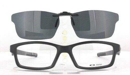 koko kokoelma saada uutta muutaman päivän päässä Custom Made for Oakley CROSSLINK-0X8027-53X17 Polarized Clip-On Sunglasses  (Eyeglasses Not Included)