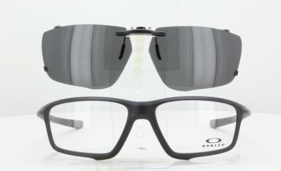ostaa paras uusi kokoelma suunnittelija muoti Custom Made for Oakley CROSSLINK-ZERO-OX8076-58X16-T Polarized Clip-On  Sunglasses (Eyeglasses Not Included)