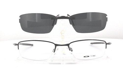 pvgpm Oakley Prescription Rx Sunglasses Clip-On: OK-JACKKNIFE-4.0-51X19