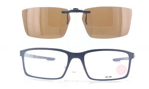 jshgy Oakley Prescription Rx Sunglasses Clip-On: OK-MILESTONE-OX8038-52X17