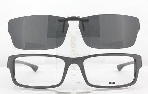 ustzn Oakley Prescription Rx Sunglasses Clip-On: OK_SERVO-OX1066-57X18-F