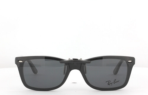 clip on ray ban shades