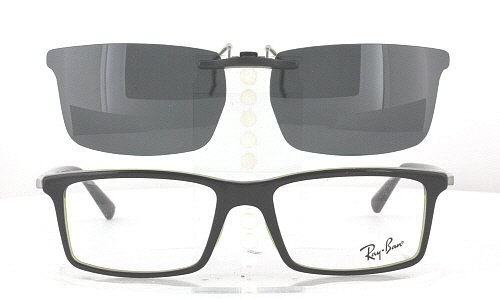 83e3ed493a ... czech compatible with ray ban 5269 53x17 polarized clip on sunglasses  b1061 320d6