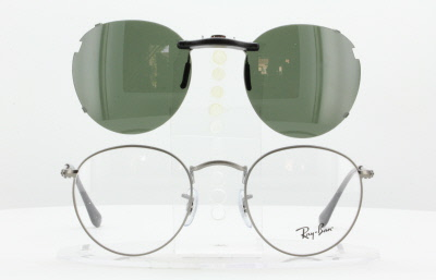 Ray Ban Clip On Sunglasses  ray ban prescription rx sunglasses clip on rb rb3447v 47x21 tab