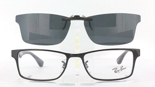 Ray Ban Clip On Sunglasses  ray ban prescription rx sunglasses clip on rb rb6238 53x17